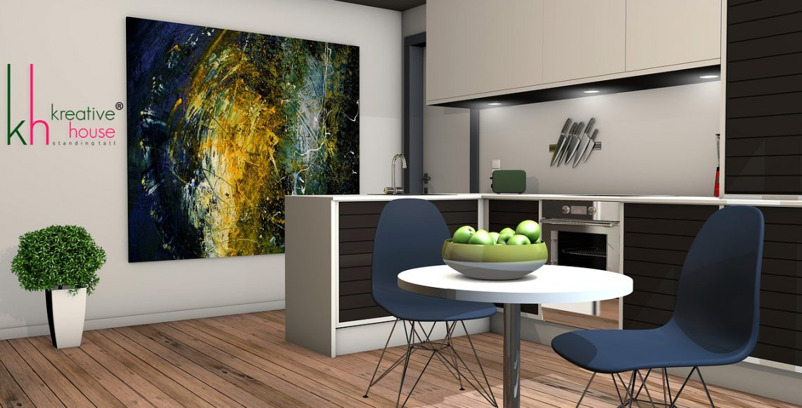 Ideas to join the living room with the kitchen