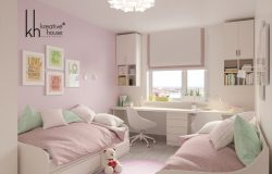 The little girl's room interior designs