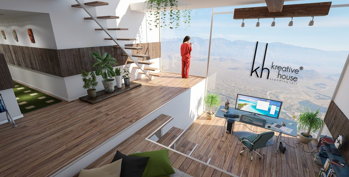 Interior designs for office room at house