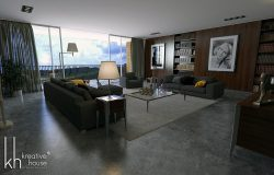 Luxury Interior Designs for an Apartment
