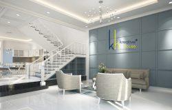 Luxury classical Interior Designs-3d white